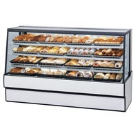 Federal Industries SGD7748 77 inch Full Service Dry Bakery Display Case