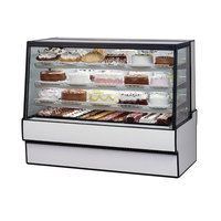 Federal Industries SGR7742 77 inch Low Full Service Refrigerated Bakery Display Case