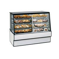 Federal Industries SGR7742DZ 77 inch Low Full Service Dual-Zone Refrigerated/Dry Bakery Display Case