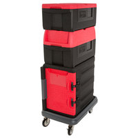 Metro Mightylite Insulated EPP Pan Carrier Kit with Two Top Load Carriers, One Front Load Carrier, and Dolly