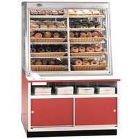 Federal Industries WDC-42 42 inch Glass Dry Self-Service Bakery Case for Half Size Pans