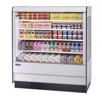 Federal Industries RSSD-660SC 71 inch High Profile Two Shelf Air Curtain Dairy Case