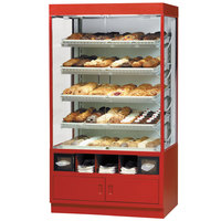 Federal Industries WDC4276SS 42 inch Glass Dry Self-Service Bakery Case for Full Size Pans