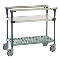Metro MS1836-FSPR PrepMate MultiStation with Stainless Steel and SuperErecta Pro Shelving - 38 inch x 19 3/8 inch x 39 1/8 inch