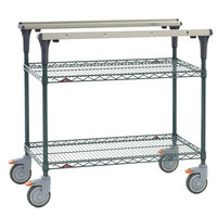 Metro MS1830-NKNK PrepMate MultiStation with MetroSeal 3 Wire Shelving - 32 inch x 19 3/8 inch x 39 1/8 inch
