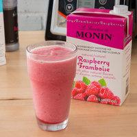Monin 46 oz. Raspberry Fruit Smoothie Mix