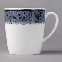 Schonwald 9015270-63076 Shabby Chic 6.75 oz. Stone Porcelain Tall Cup with Handle - 12/Case