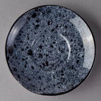 Schonwald 9016919-63076 Shabby Chic 5 1/2 inch Stone Round Porcelain Saucer - 12/Case
