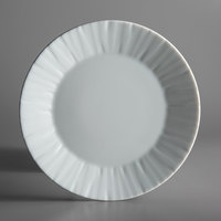 Schonwald 9360071 Character 8 1/4 inch White Round Porcelain Plate - 12/Case