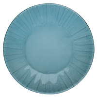 Schonwald 9361871-15703 Character 8 1/2 inch Aqua Round Glass Plate - 6/Case