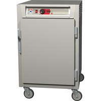 Metro C585-NFS-UPFC C5 8 Series Reach-In Pass-Through Heated Holding Cabinet - Full Length Clear / Solid Doors