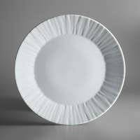 Schonwald 9360082 Character 12 1/2 inch White Round Porcelain Plate - 6/Case