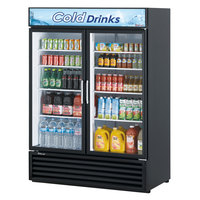 Turbo Air TGM-50RSB-N Black Refrigerated Glass Door Merchandiser