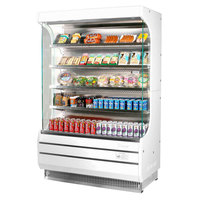 Turbo Air TOM-40W-N 39 inch White Refrigerated Air Curtain Merchandiser