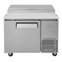 Turbo Air TPR-44SD-N 44 inch Super Deluxe Refrigerated Pizza Prep Table
