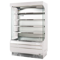 Turbo Air TOM-50W-N 51 inch White Refrigerated Air Curtain Merchandiser