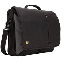 Case Logic 3201140 13 3/4 inch x 3 3/8 inch x 17 3/4 inch Black Laptop Messenger Bag