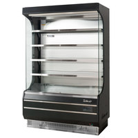 Turbo Air TOM-50B-N 51 inch Black Refrigerated Air Curtain Merchandiser