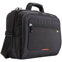 Case Logic 3201532 13 1/4 inch x 5 1/2 inch x 18 inch Black Checkpoint Friendly Nylon Laptop Case