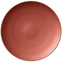 Villeroy & Boch 16-4070-2621 Copper Glow 11 1/4 inch Copper Premium Porcelain Flat Coupe Plate - 6/Case