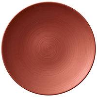 Villeroy & Boch 16-4070-2650 Copper Glow 8 1/4 inch Copper Premium Porcelain Flat Coupe Plate - 6/Case