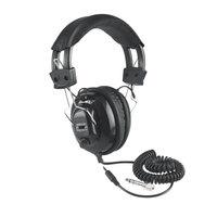 AmpliVox SL1002 Black Deluxe Stereo Headphones with Mono Volume Control