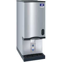 Manitowoc CNF0202A 16 1/4 inch Air Cooled Countertop Nugget Ice Maker / Water Dispenser - 20 lb. Bin with Sensor Dispensing - 120V