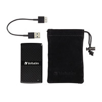 Verbatim 47680 Store 'n Go 128 GB Black USB 3.0 External SSD Device