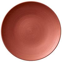 Villeroy & Boch 16-4070-2630 Copper Glow 10 inch Copper Premium Porcelain Flat Coupe Plate - 6/Case