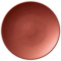 Villeroy & Boch 16-4070-2661 Copper Glow 6 1/4 inch Copper Premium Porcelain Flat Coupe Plate - 6/Case