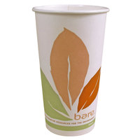 Dart Solo 316PLA-BB 16 oz. Bare Bloom Paper Hot Cup - 50 / Pack