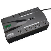 Tripp Lite ECO850LCD ECO Series 425W Black 12 Outlet UPS Surge Protector, 420 Joules