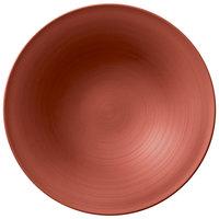 Villeroy & Boch 16-4070-2701 Copper Glow 11 1/4 inch Copper Premium Porcelain Shallow Plate - 6/Case