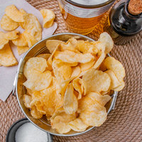 Martin's Kettle Gold 8.5 oz. Bag Sea Salt and Balsamic Vinegar Kettle-Cook'd Potato Chips - 9/Case