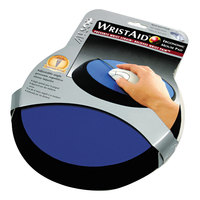 Allsop 26226 Wrist Aid Cobalt Blue Circular Mouse Pad