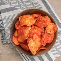 Martin's 9.5 oz. Bag Red Hot Potato Chips - 9/Case
