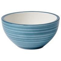 Villeroy & Boch 16-4068-1900 Artesano Ocean 20.25 oz. Pacific Green Premium Porcelain Rice Bowl - 4/Case