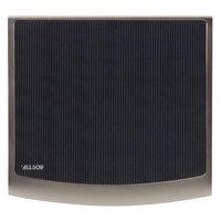 Allsop 29250 Redmond 10 3/4 inch x 12 inch Black / Silver Mouse Pad