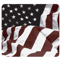 Allsop 29302 NatureSmart 8 1/2 inch x 8 inch American Flag Mouse Pad