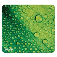 Allsop 31624 NatureSmart 8 1/2 inch x 8 inch Leaf Raindrop Mouse Pad
