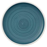 Villeroy & Boch 16-4068-2601 Artesano Ocean 11 1/2 inch Pacific Green Premium Porcelain Flat Coupe Plate - 6/Case