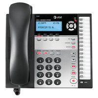 AT&T 1040 4 Line Black / Silver Corded Expandable Telephone