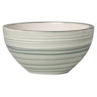 Villeroy & Boch 10-4860-1900 Artesano Nature 20.25 oz. Vert Premium Porcelain Rice Bowl - 4/Case