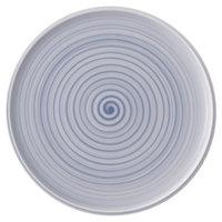 Villeroy & Boch 10-4858-2590 Artesano Nature 12 1/2 inch Bleu Premium Porcelain Buffet / Pizza Plate