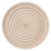 Villeroy & Boch 10-4862-2620 Artesano Nature 10 1/2 inch Beige Premium Porcelain Salad Plate - 6/Case