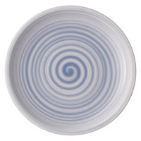 Villeroy & Boch 10-4858-2640 Artesano Nature 8 1/2 inch Bleu Premium Porcelain Salad Plate - 6/Case