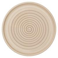 Villeroy & Boch 10-4862-2590 Artesano Nature 12 1/2 inch Beige Premium Porcelain Buffet / Pizza Plate