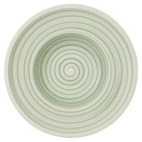 Villeroy & Boch 10-4860-2700 Artesano Nature 10 inch Vert Premium Porcelain Deep Plate - 6/Case