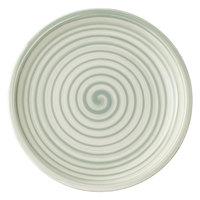 Villeroy & Boch 10-4860-2660 Artesano Nature 6 1/4 inch Vert Premium Porcelain Coupe Bread & Butter Plate - 6/Case