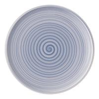 Villeroy & Boch 10-4858-2620 Artesano Nature 10 1/2 inch Bleu Premium Porcelain Flat Coupe Dinner Plate - 6/Case